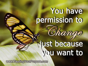 permission to change career