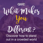 what makes you different quiz