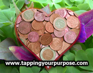 corazon monedas